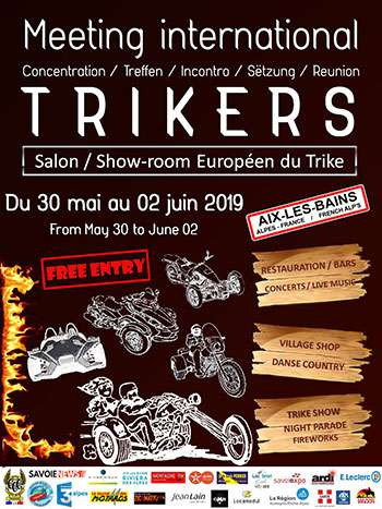 Concentre internationale TRIKERS du 30 mai au 2 juin 2019