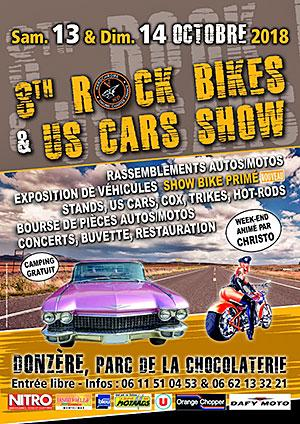 8th Rock Bikes & Us Cars Show