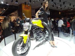 Salon EICMA 2017 - Ducati Monster