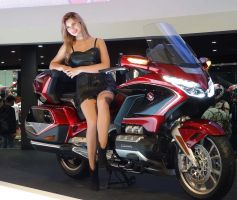 Salon EICMA 2017 - Nouvelle Goldwing