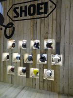 Salon EICMA 2017 - casques SHOEI
