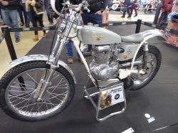 Expo motos Salon Moto Légende 2019. Motobécane 200 Trial sur base 175 Z57C de 1957