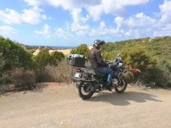 05-Essai BMW R1200 GS Adventure, un excellent trail.