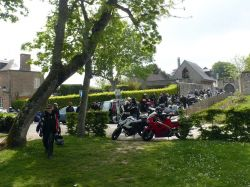 30 - Pause des motards du MC Top Moto 77, à Saint-Valery-sur-Somme