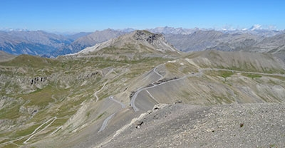 Road-book vers la Bonette