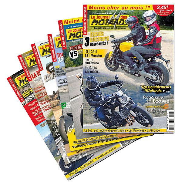 Abonnement 1 an au Journal Des Motards